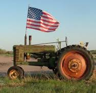 flag tractor